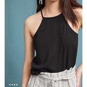 Anthropologie Cloth and Stone Halter Tank Top